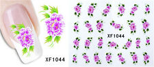3D Flower Water Transfer Nail Sticker Manicure Decal Art Tips Decoration #XF1044
