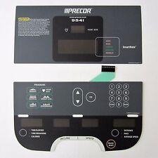 Precor 954i Treadmill Display Overlay Keypad