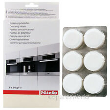 6 Genuine MIELE Steam Oven Descaler Tablets Limescale Descaling Tabs