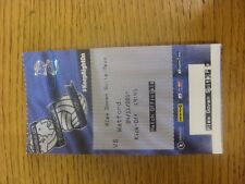 04/11/2014 Ticket: Birmingham City v Watford (Match Officials - Alex Govan Suite