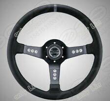 350mm SPARCO car Sports Genuine Leather Deep Dish Drifting Racing Steering Wheel