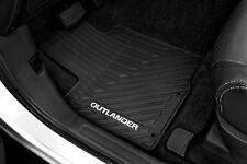 Genuine Mitsubishi All Weather 4 Piece Floor Mats Outlander 2016 2017 MZ314739