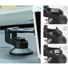 360° 2 in 1 Magnetic Car Suction Cup Dashboard Mount Holder Stand For Cellphone