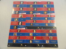 2007-2016 US MINT PRESIDENTIAL UNC $1 P & D COIN SETS ALL TEN SETS MINT SEALED