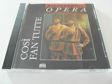 Discovering Opera - Cosi Fan Tutte (CD Album 1983) Used Very Good