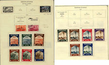 Tripolitania stamps on album page better stamps           KEL1211