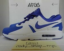 DS Nike Air Max Zero iD White Persian Violet size 12 purple kings 853860-901