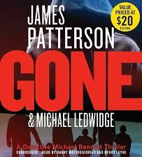 James Patterson GONE Unabridged CD *NEW* FAST 1st Class Ship!