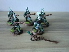 Warhammer 40k Eldar Fire Dragons & Exarch - Metal Painted