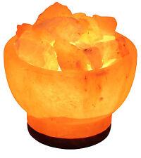 Nueva Lámpara de sales Ionizantes Del Himalaya USB Luz LED Lámpara de sal de roca brillante atractivo