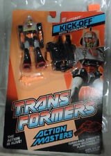 SALE!! - G1 Transformers ACTION MASTER KICK-OFF Action Figure - ON CARD MOSC