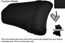 BLACK STITCH CUSTOM FITS DUCATI 749 999 REAR PILLION PASSENGER SEAT COVER