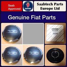 ORIGINALI FIAT 500 lega ruota centro CAP / Emblema X3-NUOVISSIMA 51884863