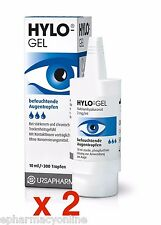 HYLO®-GEL EYE DROPS - 2 x 10 ml intensive care for dry eyes