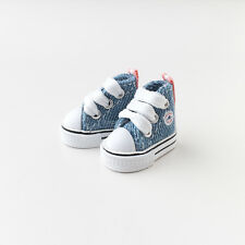Neo Blythe Pullip Doll Canvas Sneakers Micro Shoes - Blue Jeans