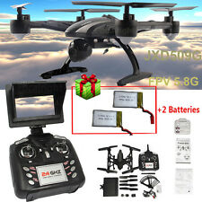 JXD 509G 5.8G RC FPV Drone Quadcopter+2MP Monitor Camera+2x Battery A#5
