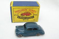 Vintage Moko Lesney Matchbox Series No 46 - Morris Minor 1000 Car & Original Box