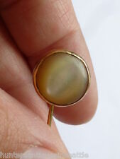 Vitntage 14K yellow gold Mother-of-Pearl Stick Pin / Lapel Pin