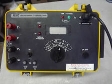 AEMC Instruments Model 5600 Digital Micro-Ohmmeter no cable, missing Cover