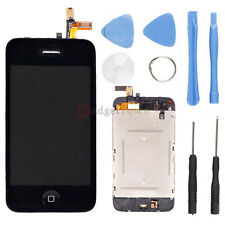 USA LCD Touch Screen Digitizer Glass Assembly Replacement for iPhone 3 3G Black