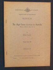 Valerie May - The Algal Genus Gracilaria In Australia - 1948