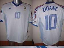 France Adidas Adult XL Zidane Football Soccer Shirt Jersey Vintage Real Madrid W