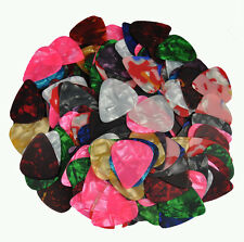 Lots of 100 Pcs Thin 0.46mm Blank Guitar Picks Plectrums With Tracking No