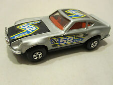 Matchbox Speed Kings # K-52 DATSUN 240 Z RALLY CAR in Silver         New w/o Box