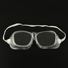 New Eye Protection Protective Lab Anti Fog Clear Goggles Glasses Vented BB