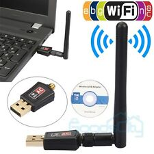 AC600Mbps Dual Band Wireless USB WIFI Adapter Internet Network Adapter W Antenna