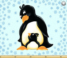 Susybee GWYN, the PENGUIN Playmat Panel Quilt Fabric ~ Susybee #20238-930