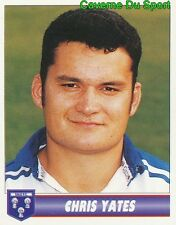 210 CHRIS YATES ENGLAND SALE FC STICKER PREMIER DIVISION RUGBY 1997-1998 PANINI