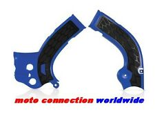 NEW YAMAHA YZF250 YZF450 ACERBIS X-GRIP FRAME GUARDS BLUE 2014 2015 2016