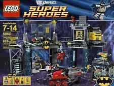 NEW SEALED LEGO 6860 SUPER HEROES BATMAN THE BATCAVE POISON IVY BANE BRUCE WAYNE