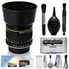 Super Focus 85mm f/1.8 Manual Medium Telephoto Lens for Nikon F Camera