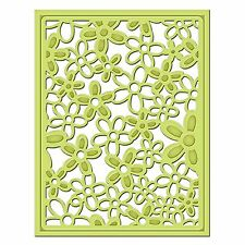 SPELLBINDERS SHAPEABILITIES FLORAL DECORATIVE CARD FRONT CUTTING DIE