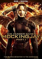 The Hunger Games Mockingjay Part 1 [DVD + Digital], New, Free Shipping