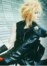 HOT Sell! Final Fantasy VII Cloud Strife Short Blonde Anime Cosplay Wig  R.2080