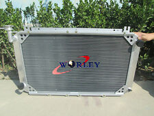 56mm 3 rows For NISSAN PATROL GQ SAFARI y60 mt aluminum radiator