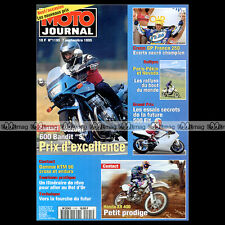 MOTO JOURNAL N°1195 SUZUKI 600 BANDIT HONDA XR 400 KTM 125 250 360 GS SX 1995