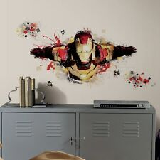 Iron Man 3 Giant Peel & Stick Wall Decal Marvel Comics Brand New