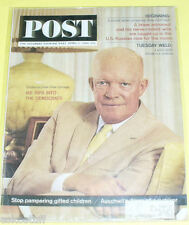 Post Magazine – 1964 Dwight Eisenhower cover Nice Picture! See!