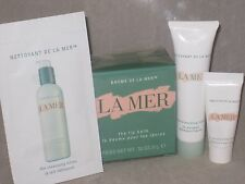 NIB  LA MER FULL SIZE LIP BALM (SEALED) + CLEANSING FORM, CLEANSING LOTION + LOT