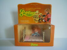 NICE ! Vintage 1980 Mattel The Littles Flossie Doll And Bed Set Mint In The Box