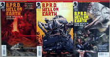 BPRD HELL ON EARTH DEVIL'S ENGINE 1,2,3 (1-3)...NM-...2012...Mignola...Bargain!