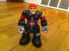 vintage 1999 Fisher Price Rescue Heroes firefighter action figure Fireman Toy