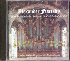 Alexander Fiseisky at the Kuhn Organ in the Cathedral of St Gall an der Orgel