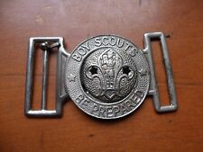 Vintage Australian Boy Scout Be Prepared Metal Belt Buckle from the 1960's