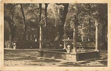 Tarjeta Postal BELLEZAS Y ENCANTOS DE ARANJUEZ. Jardín de la Isla.