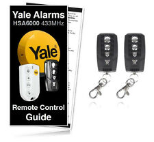 Yale Alarm HSA6400 Premium Compatible Remote Controls For All HSA6000 Systems
